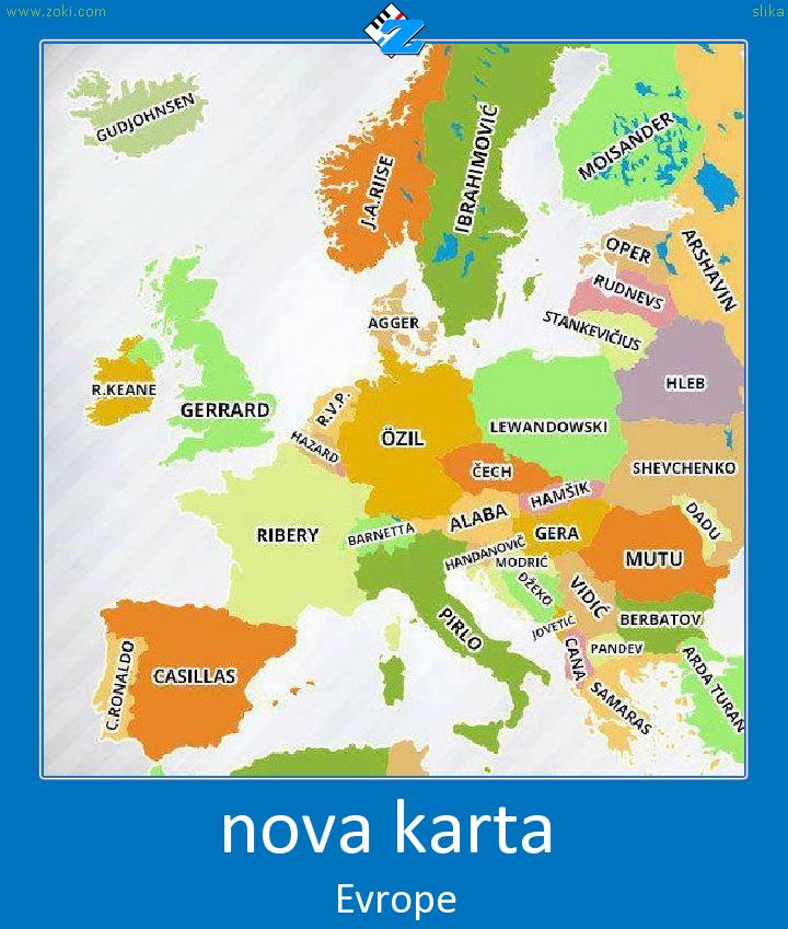 nova karta evrope nova karta   Posteri   Zoki Games nova karta evrope